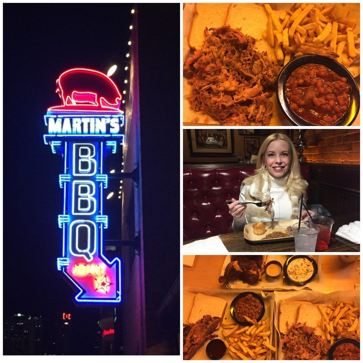 Pictures of Martin's BBQ Nashville. (Source: 3TV/CBS 5)