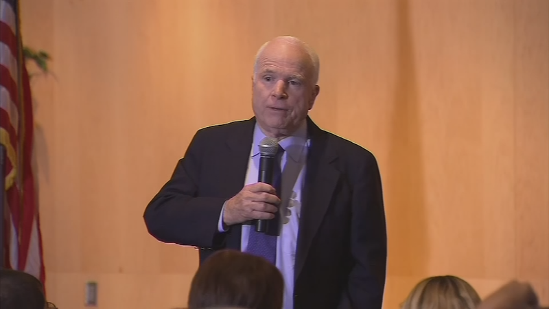 Arizona Republican Sen. John McCain took to Twitter on Sunday to discuss the Mueller investigation. (Source: 3TV/CBS 5)