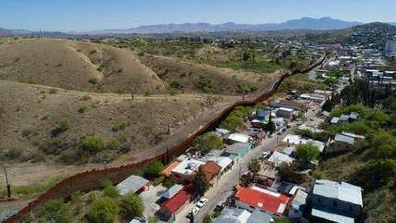 File photo of U.S. Mexico border fence. (Source: AP Photo/Brian Skoloff, File)