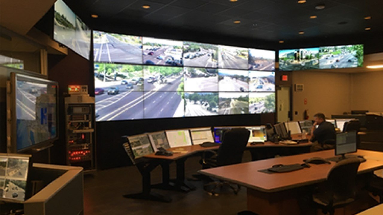 Traffic Management Center. (Source: City of Scottsdale)