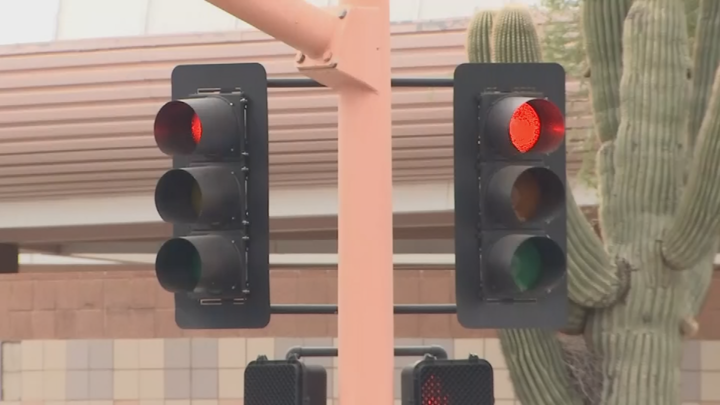 The City of Scottsdale is close to finishing a project to help reduce wait times at red lights. (Source: 3TV/CBS 5)