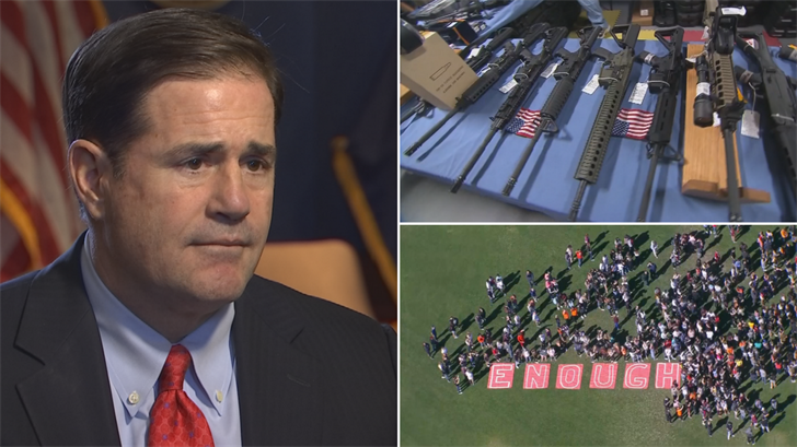 Gov. Doug Ducey released a plan on Monday aimed at keeping schools safer. (Source: 3TV/CBS 5)