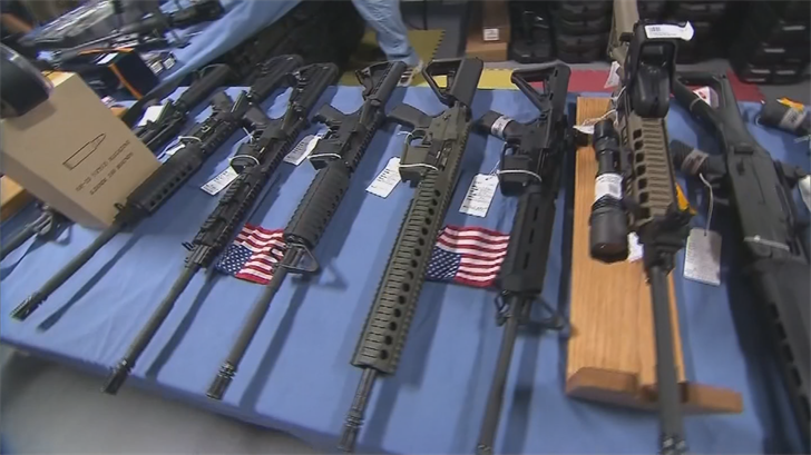 The governor's office acknowledged that there's nothing stopping someone under a stop order to purchasing a weapon from a private dealer at a gun show. (Source: 3TV/CBS 5)