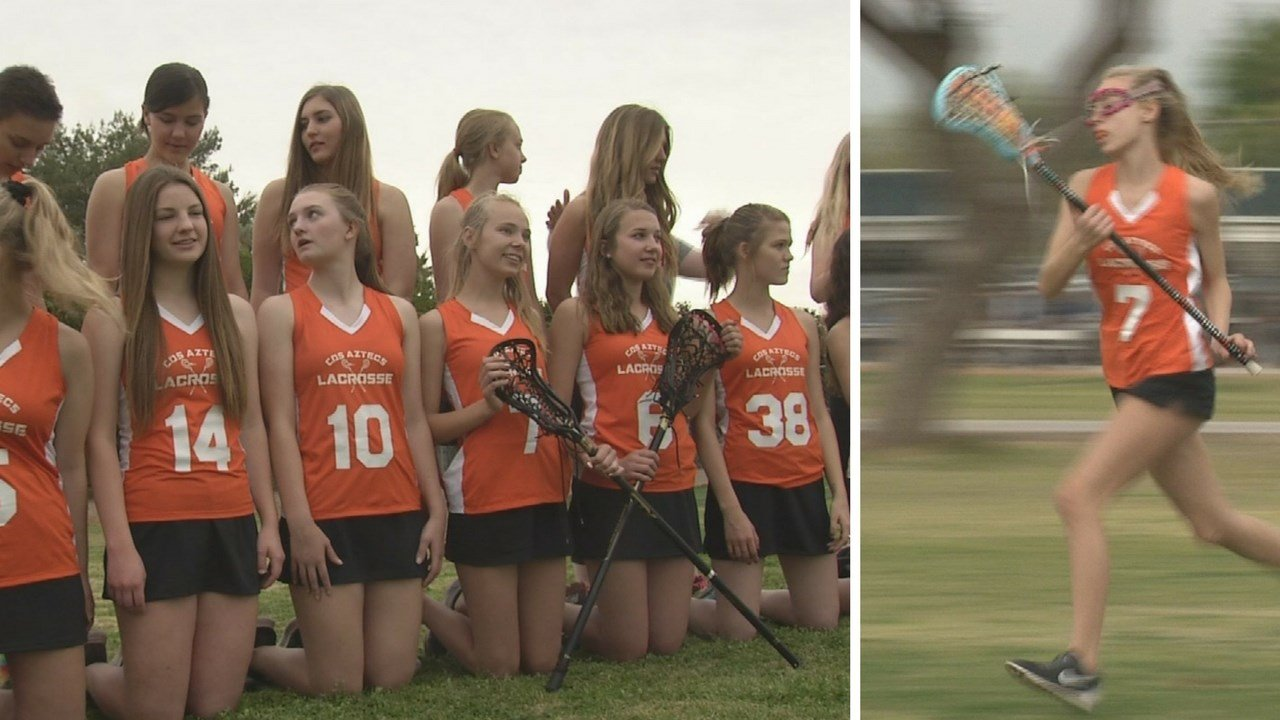 Corona del Sol High school in Tempe has a girls lacrosse team again. (Source: 3TV/CBS 5 News)