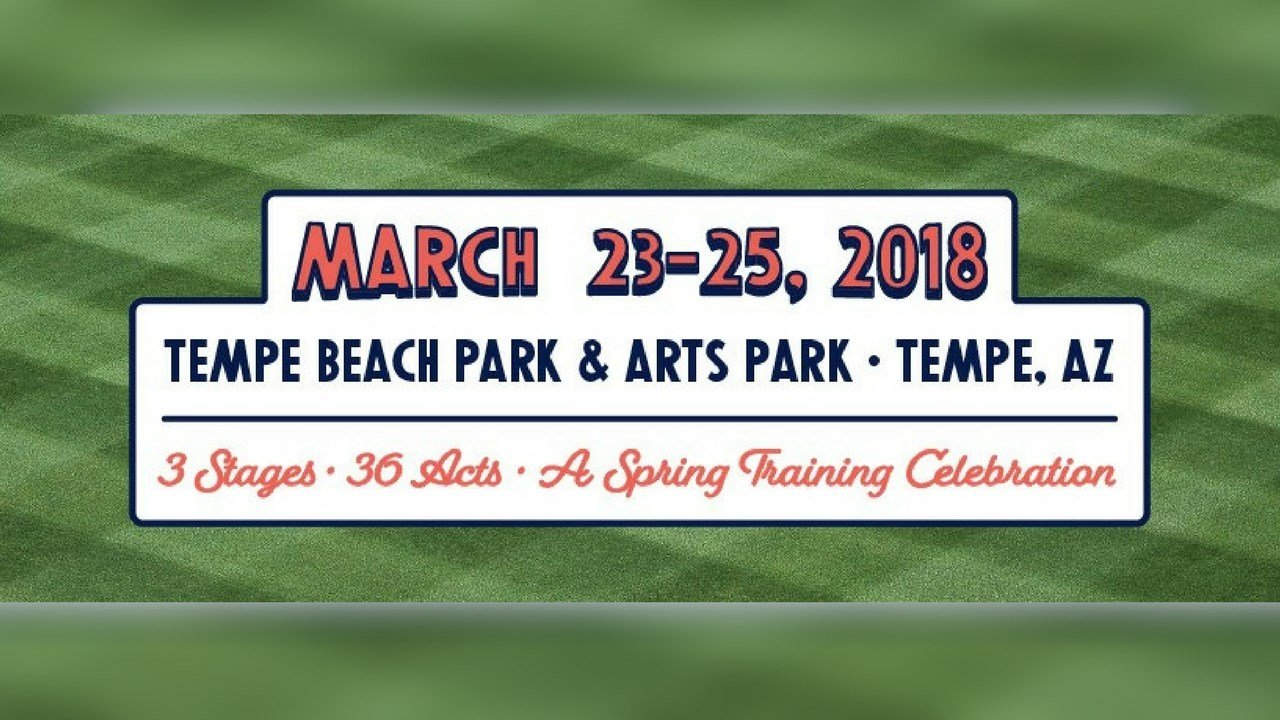 Tempe Beach Park is holding the first ever Innings Festival next weekend from March 23 to March 25. (Source: Facebook)