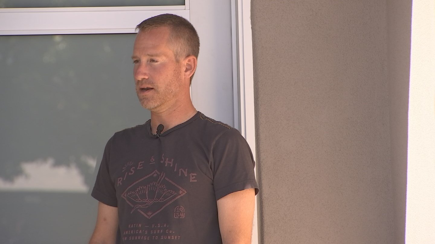 Tim Huizingn has concerns about a person looking into windows at night in his neighborhood. (Source: 3TV/CBS 5 News)