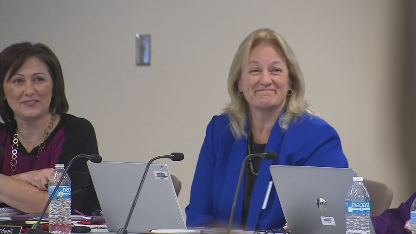 Dr. Denise Birdwell could be fired on Tuesday. (Source: 3TV/CBS 5)