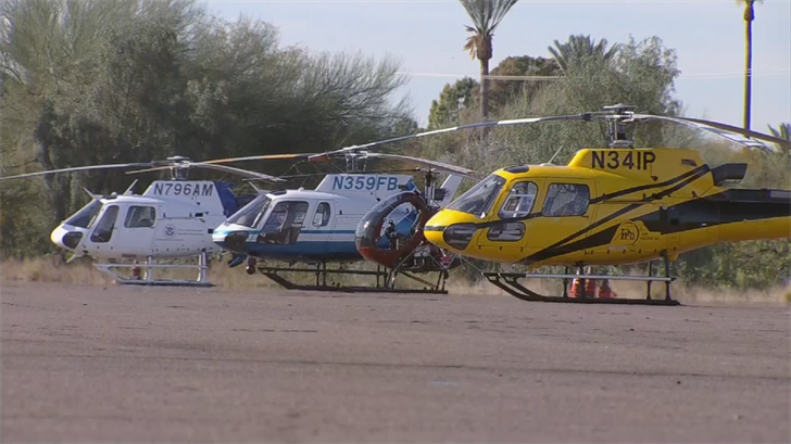Helicopter crews and pilots gathered to share their best practices, learn new strategies for mitigating risks, and receive updated safety training. (Source: 3TV/CBS 5)