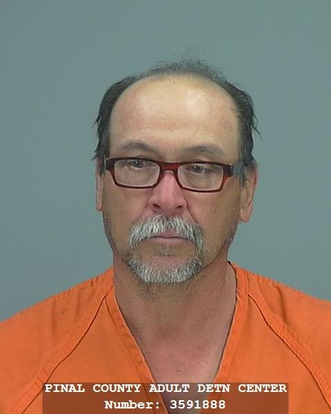 Jacinto Armentilla Canevet, 57, arrested for possession of narcotics and intent to sell. (Source: Pinal County Sheriff's Office)