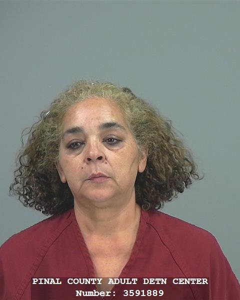 Silvia Ramos Lopez, 53, arrested for possession of narcotics and intent to sell. (Source: Pinal County Sheriff's Office)