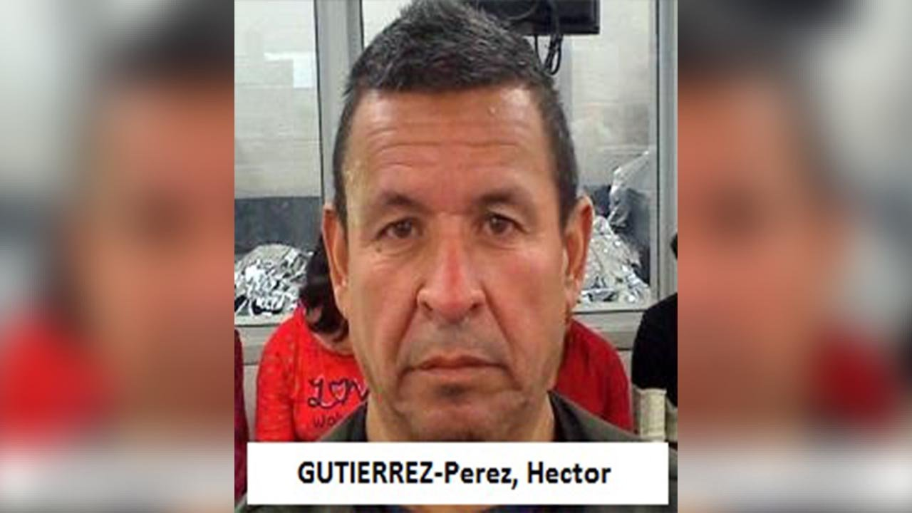 U.S. Border Patrol agents in Yuma have arrested a Mexican man who's a convicted sex offender and has been previously deported. (Source: U.S. CBP)