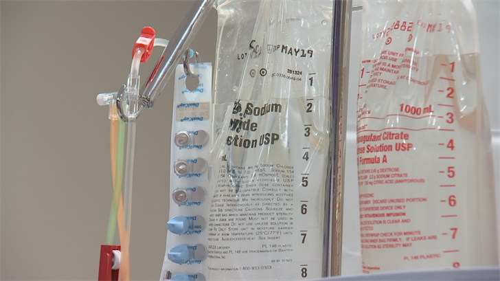 It's called CAR-T cellular therapy and only one hospital in the entire state has been approved to perform the procedure on its patients. (Source: 3TV/CBS 5)