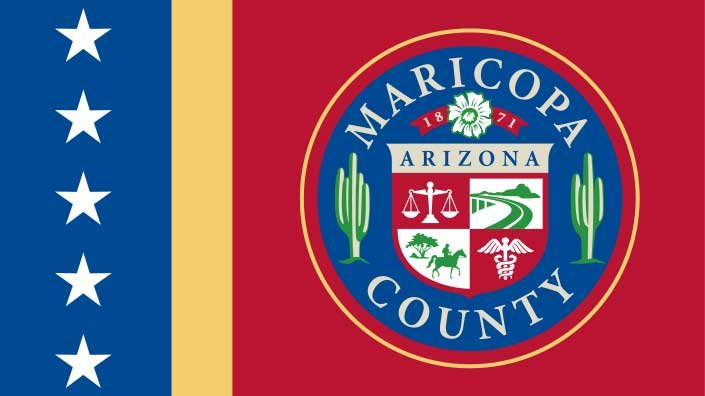 Maricopa County flag (Source: Wikipedia)