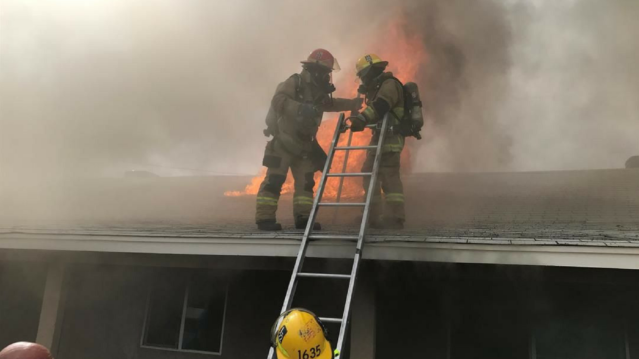 Firefighters responded to an aggressive fire in Phoenix. (Source: Phoenix Fire Department)