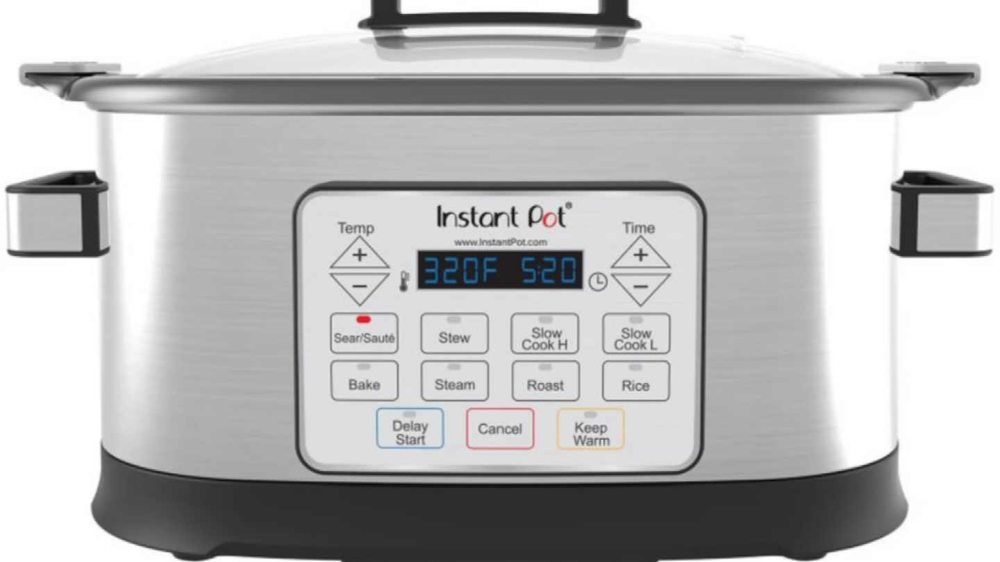 Instant Pot has recalled 104,000 Gem 65 8-in-1 Multicookers because they can overheat and melt on the underside. (Source: 3TV)