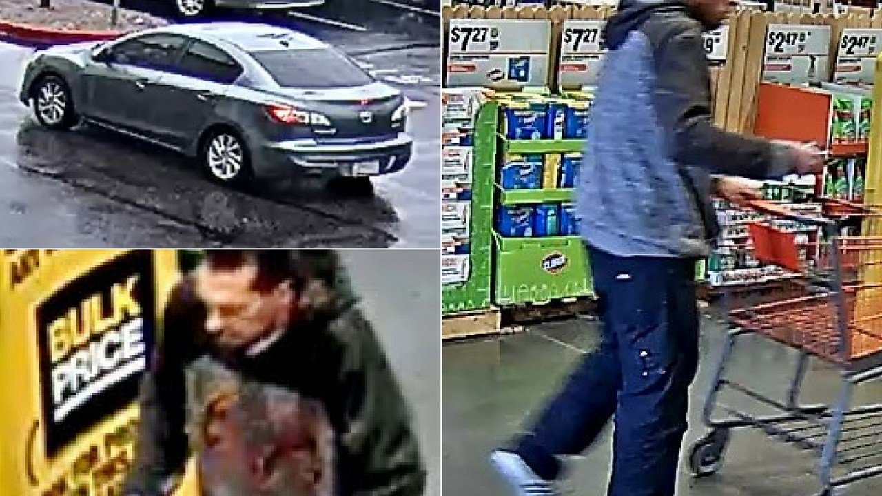 He is described as a 30-year-old Hispanic male wearing a black and gray hooded sweatshirt, blue jeans and white Adidas shoes with black stripes. (Source: Phoenix Police Department)