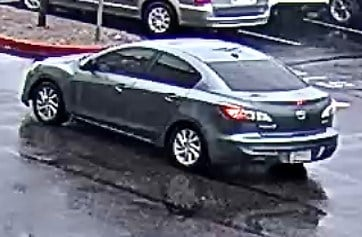Phoenix police said the suspect loaded the tools into a 2012 grey Mazda 3, which he then escaped in. (Source: Phoenix PD)