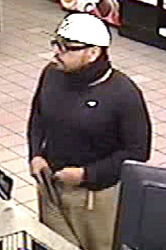 The suspect, thought to be in his mid 20s, left on foot. (Source: Phoenix PD)