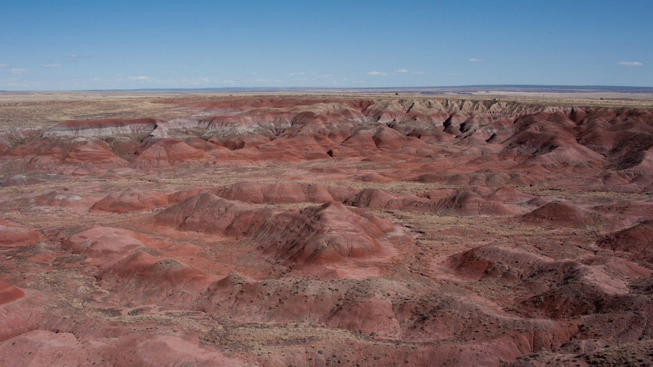 Petrified Forest National Park spans hundreds of thousands of acres and has more than 600,000 visitors annually. (Photo by Jesse Stawnyczy/Cronkite News)