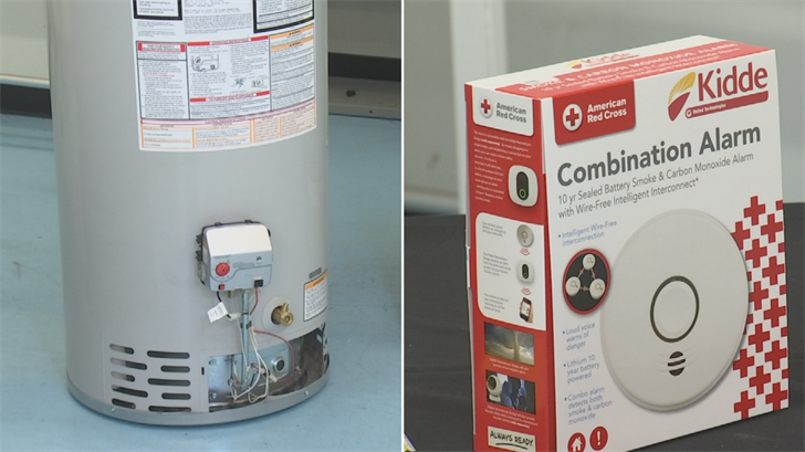 Periodic maintenance on gas appliances and carbon monoxide detectors are key. (Source: 3TV/CBS 5)