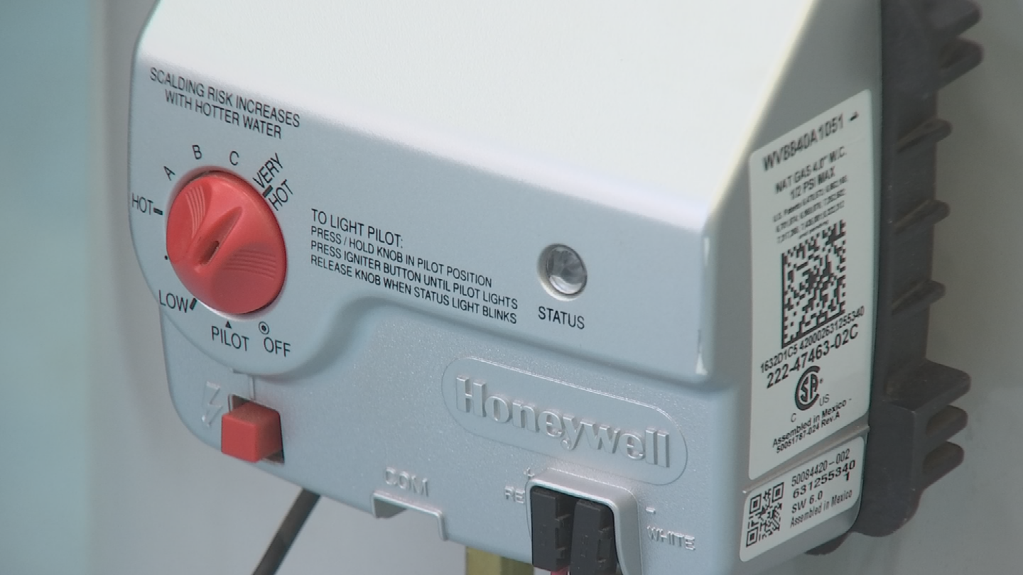 The water heater may also have a system that shows if something is wrong with the water heater. (Source: 3TV/CBS 5)