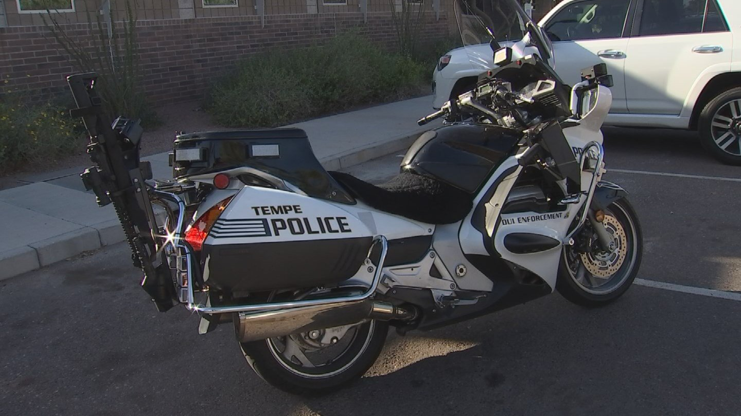 The department installed the high-powered rifle on eight of its motor units about six months ago. (Source: 3TV/CBS 5)