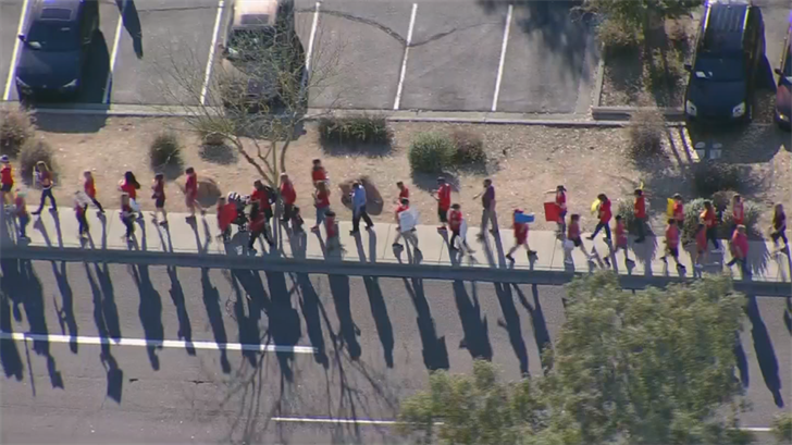 "Educators across Arizona have united in the ""RedForEd"" movement. (Source: 3TV/CBS 5)"