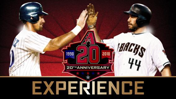 The Diamondbacks are set to celebrate their 20th anniversary on Saturday (Source: Arizona Diamondbacks)