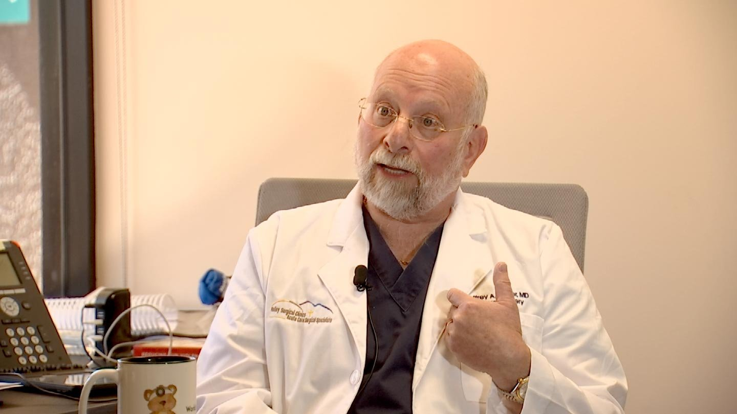 'I can give a list a mile-long of all the things that were done with good intentions that have unintended consequences, including our current opioid policy ...,' Dr. Jeffrey Singer said. (Source: 3TV/CBS 5)