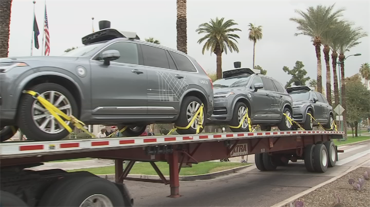 Some in the state Legislature are questioning whether Arizona has enough regulations on companies that test self-driving vehicles. (Source: 3TV/CBS 5)