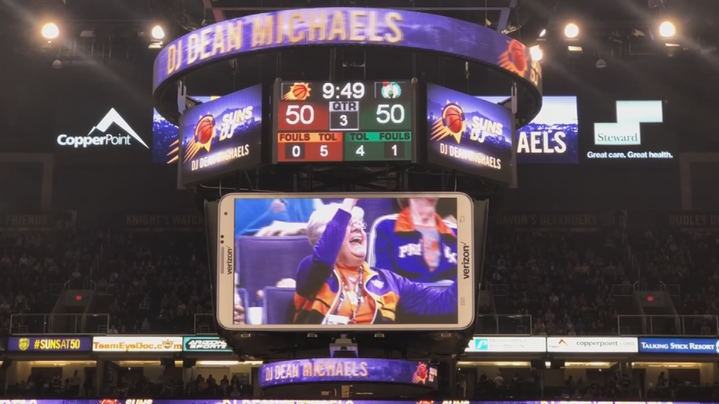 There's an app where you can find your video if you were on the jumbotron. (Source: 3TV/CBS 5)