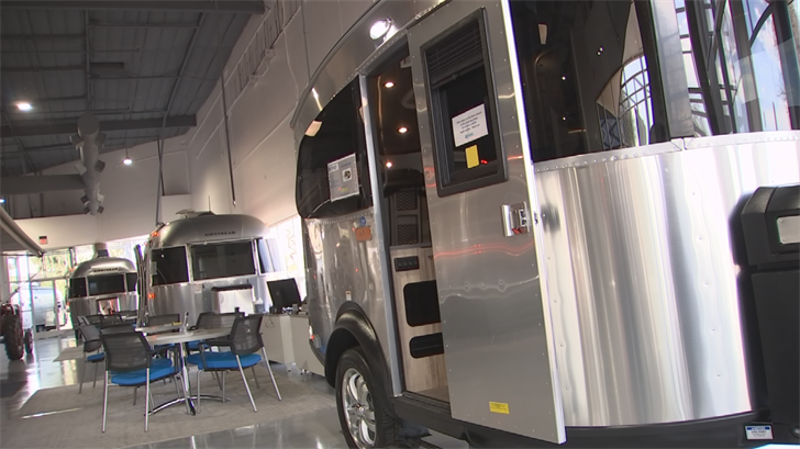 The business started out as just a rental location for retro RVs but they noticed a lot of people not only wanted to rent but to buy one. (Source: 3TV/CBS 5)