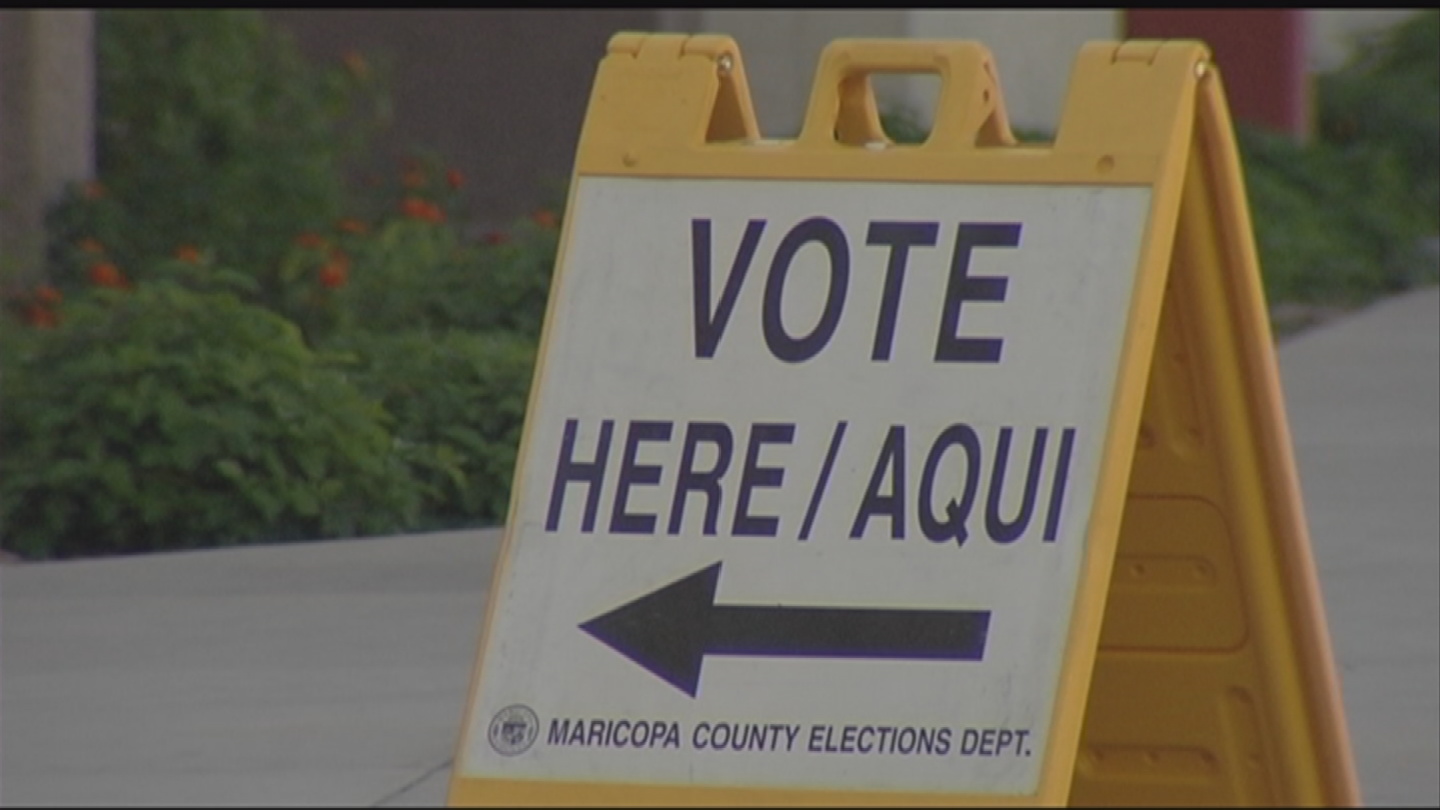 "With midterm elections fast approaching, there is concern about election hacking in Arizona after received a ""D"" grade on election security. (Source: 3TV/CBS 5)"