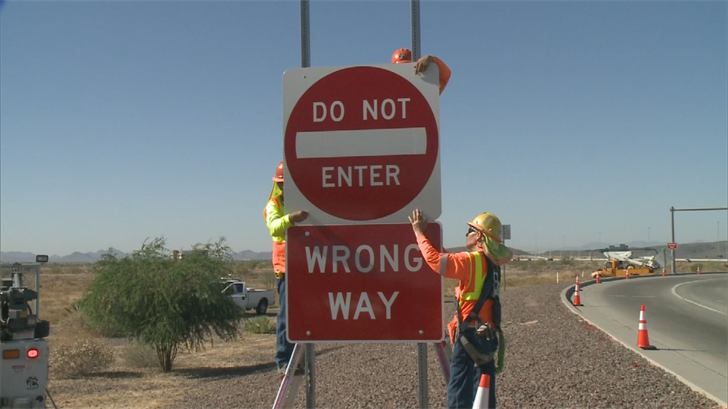 Gov. Doug Ducey is coming down hard on wrong-way drivers in Arizona with a recently-signed law. (Source: 3TV/CBS 5)