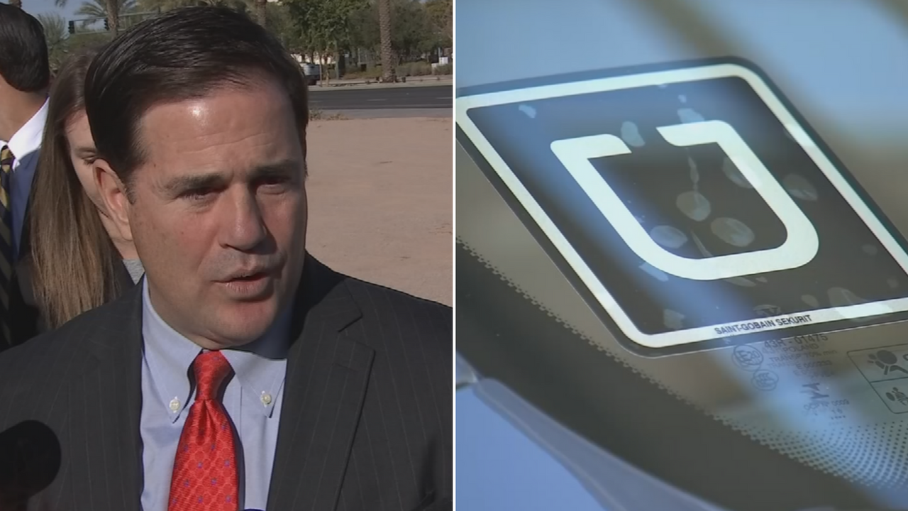 Emails show that Ducey's staff worked closely with the company as it began experimenting with autonomous vehicles that the company began testing on public roads in August 2016 without informing the public. (Source: 3TV/CBS 5)