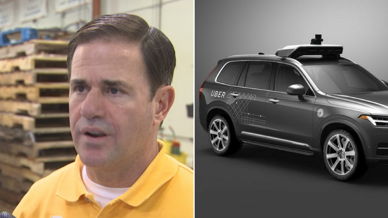 An investigation reveals Gov. Ducey's emails didn't contain any reference to the question ofwhether Uber's driverless cars were safe. (Source: 3TV/CBS 5/CNN)