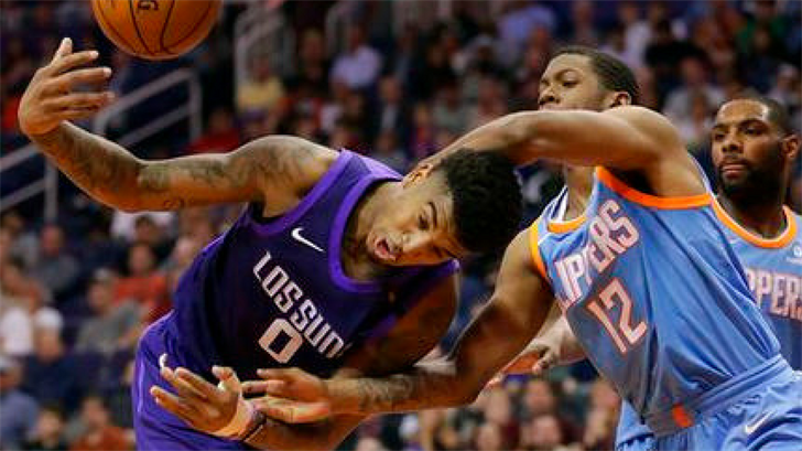 The Phoenix Suns lost 111-99 to the Los Angeles Clippers on Wednesday night. (Source: AP Photo)
