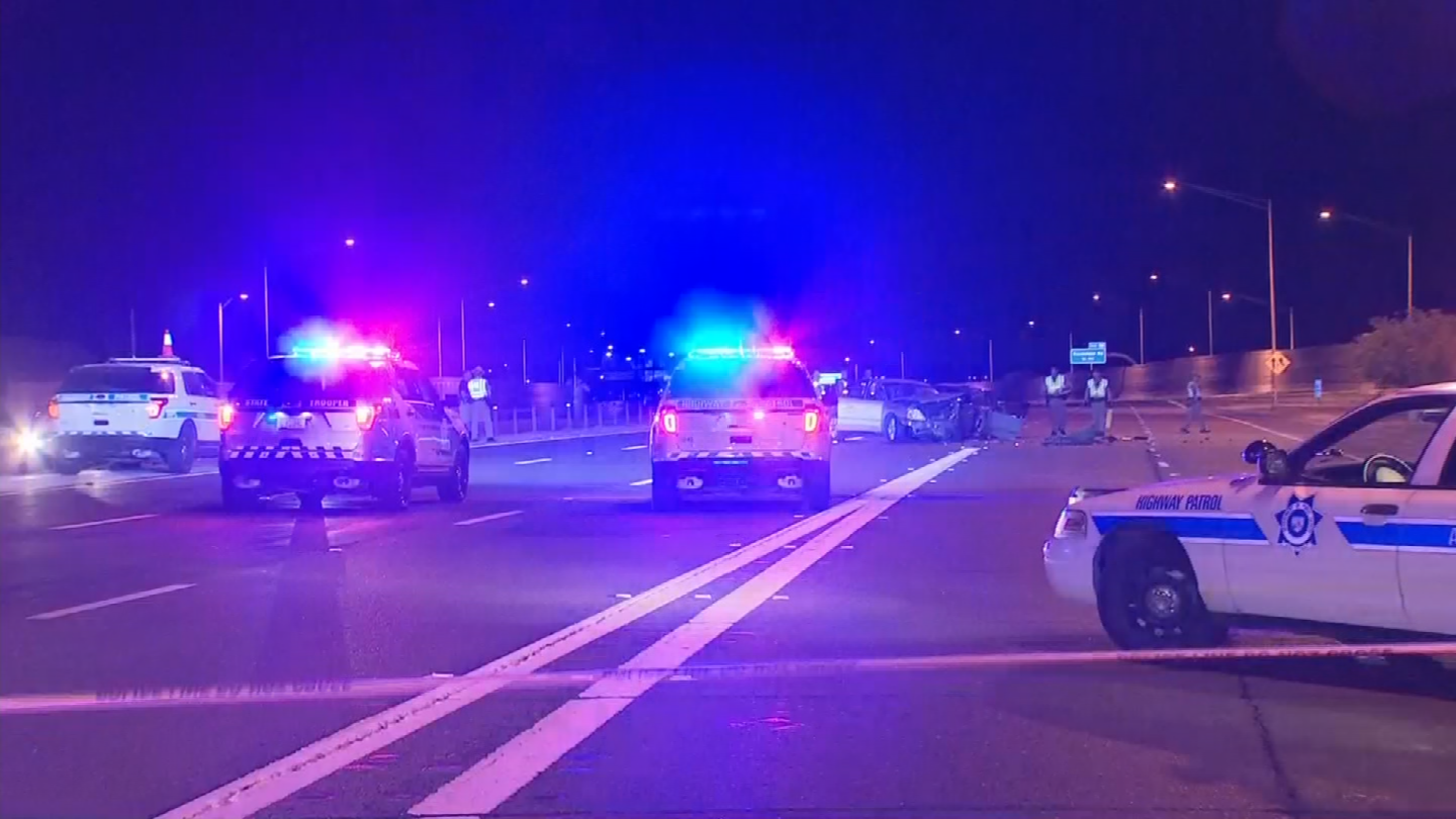 Four people, the wrong-way driver and three occupants in another vehicle, were transported to local hospitals. (Source: 3TV/CBS 5)