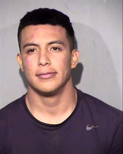 Herman Loredo, 23, arrested after crashing an SUV into a south Phoenix home. (Source: Maricopa County Sheriff's Office)