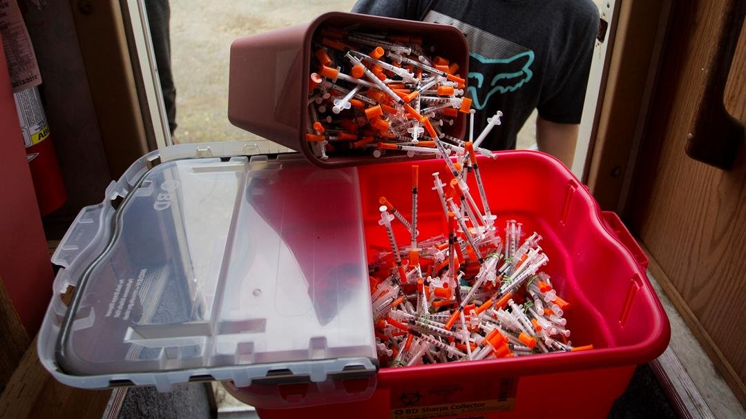 Needle exchange programs could soon be legal in Arizona. (Source: AP Photo/David Goldman)