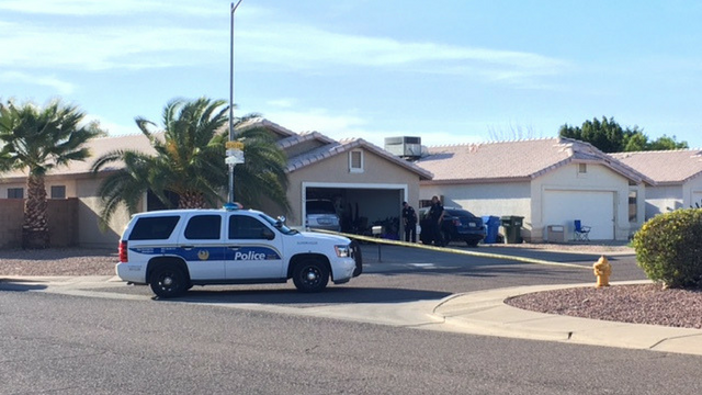 Police said a Phoenix family confronted an armed burglar. (Source: 3TV/CBS 5)