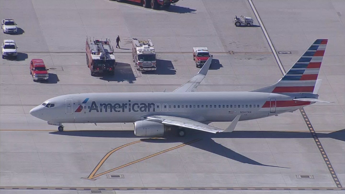 An American Airlines plane had to return to Sky Harbor after passengers fell ill (Source: 3TV/CBS 5)