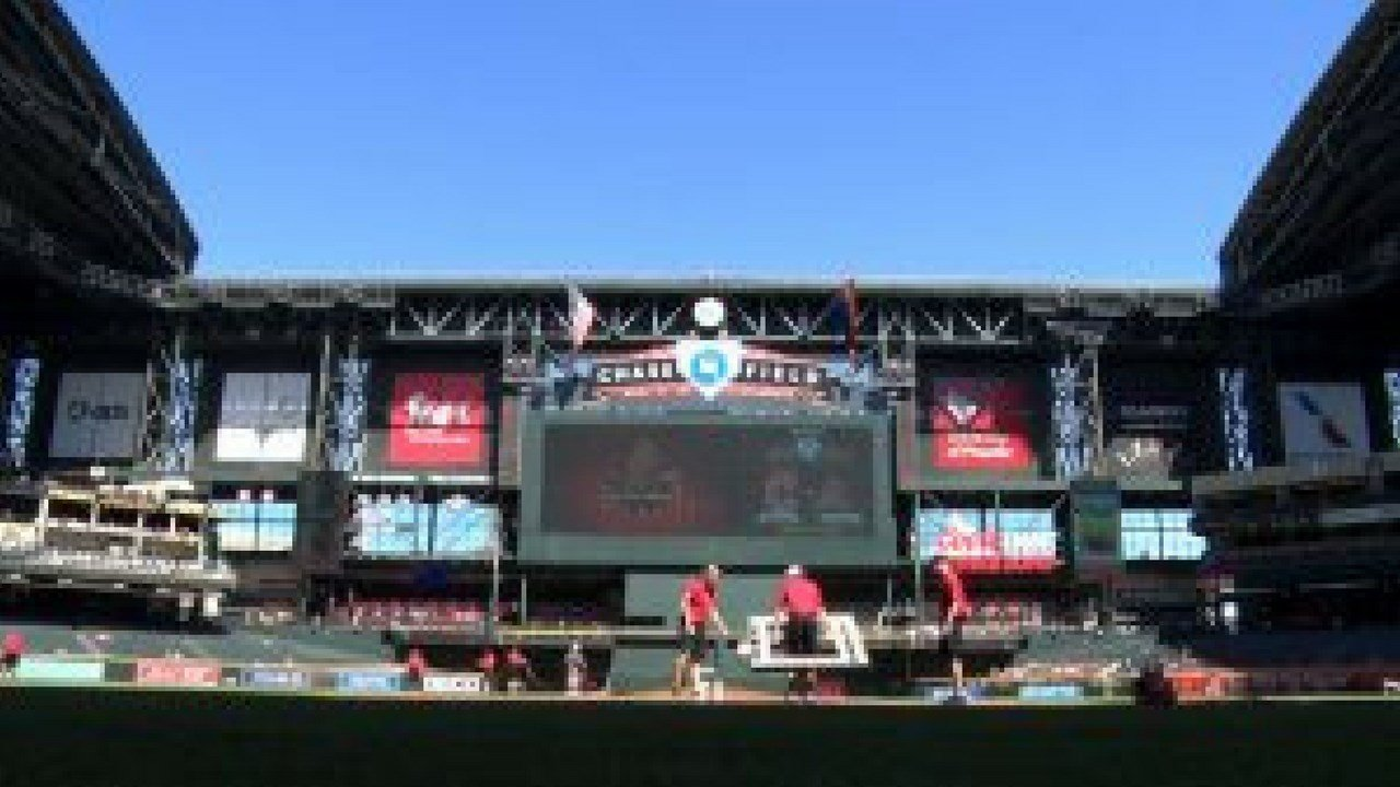 Among the things the Diamondbacks added for the 2018 season was a humidor. It is expected to reduce the amount of home runs at Chase Field. (Photo by Blaine McCormick/Cronkite News)