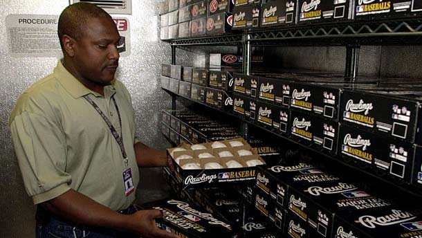 Chase Field has a humidor like the one at Coors Field, and our Royal Norman really wants to see it. Baseballs have been stored in a humidor at Coors Field since 2002. (AP)