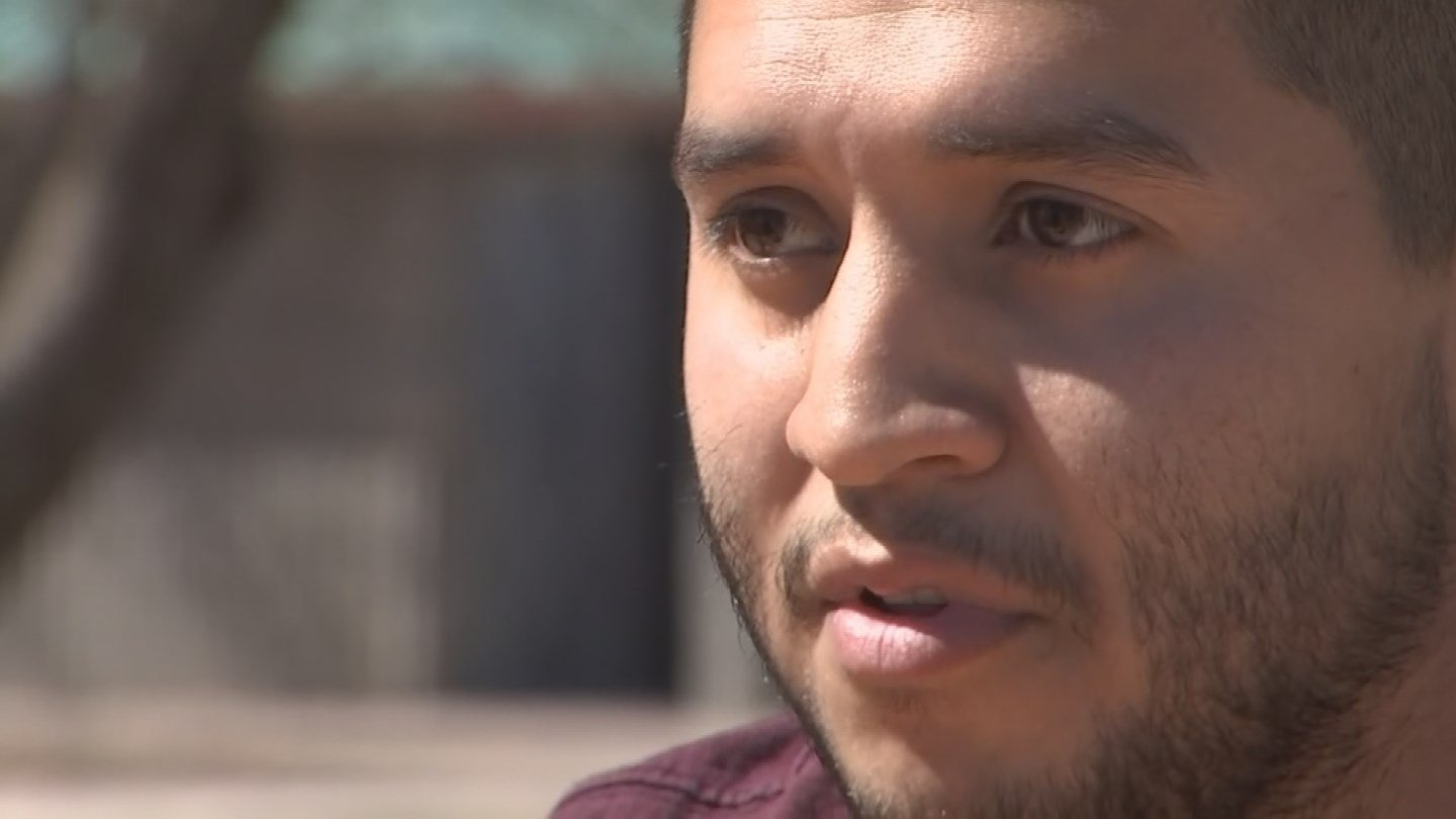 Vincent Velasquez says his sister, Brittany, is mentally ill, but has never been diagnosed. (Source: 3TV/CBS 5 News)