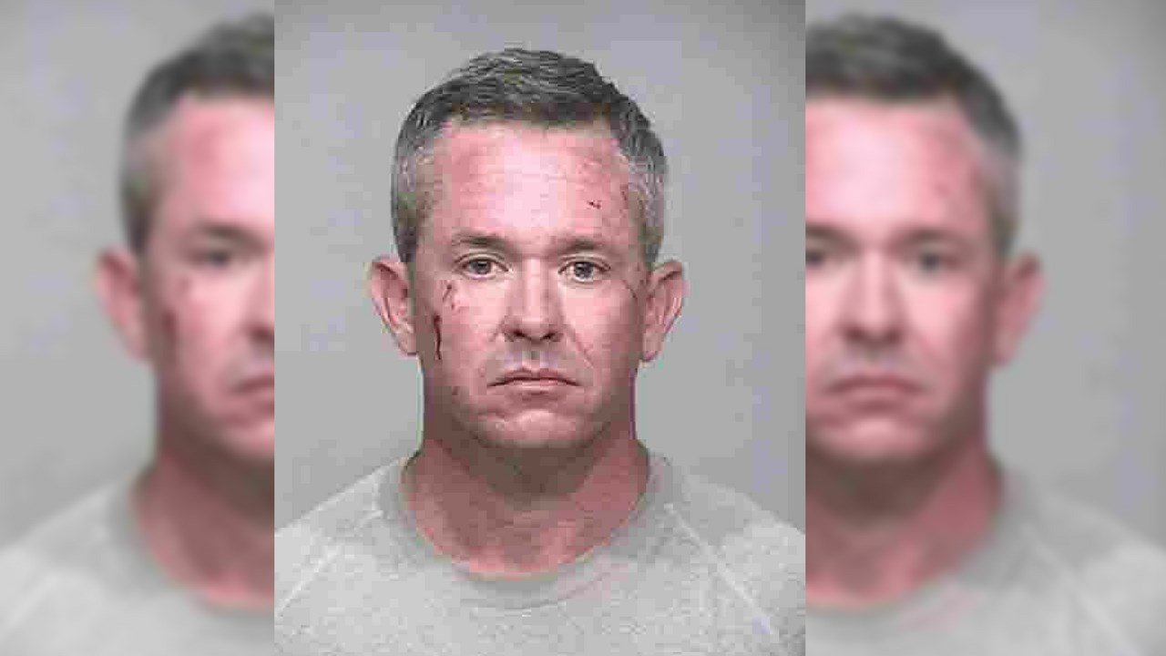 Scottsdale police said Purdin was extremely intoxicated, and had fired several rounds into the air from his patio. (Source: Scottsdale Police Department)