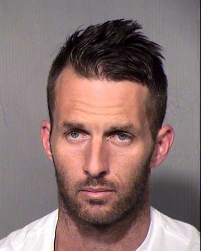 Mug shot of 36-year-old Ryan Prassas. (Source: Maricopa County Sheriff's Office)