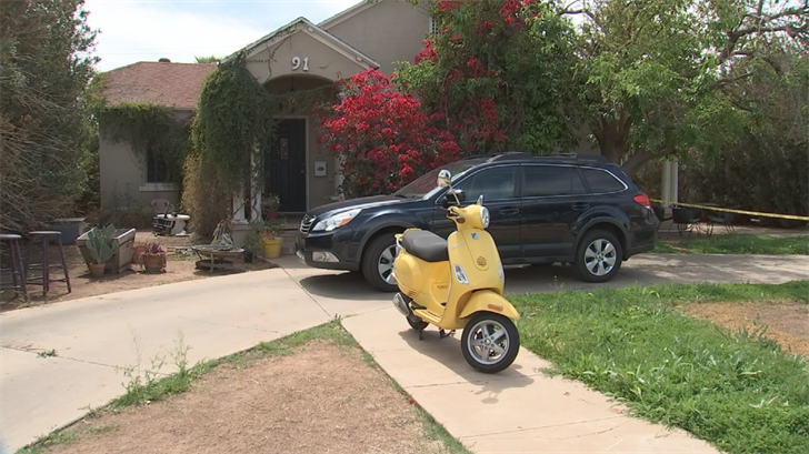 People on Willetta Street also say Fitzpatrick was an engineer at Honeywell and that he could often be found working on his yellow scooter in his driveway. (Source: 3TV/CBS 5)