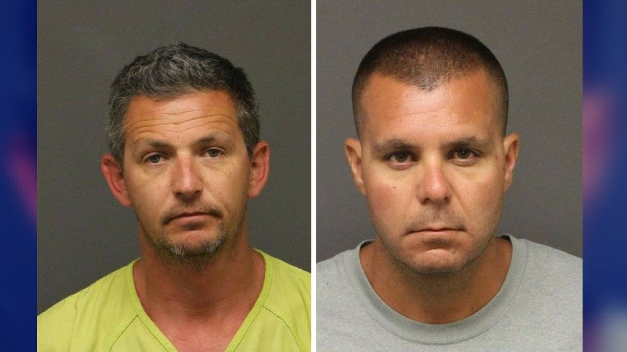 Jason M. Faust, 38, and Robert P. Yow, 37. (Source: Mohave County Sheriff Dept.)
