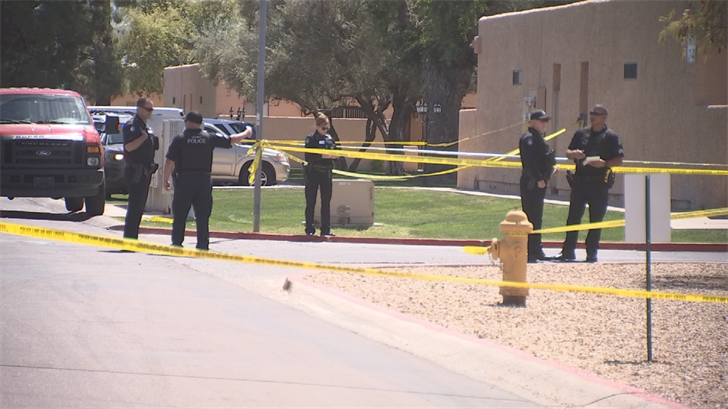 A shooting in Peoria has left a man dead. (Source: 3TV/CBS 5)